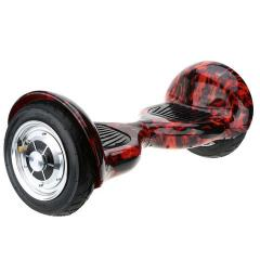 SELF BALANCE SCOOTER WITH RUBBER TIRES RED