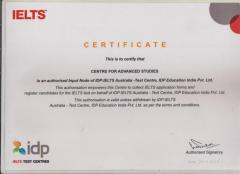 Sell Registered TOEFL/IELTS And Other Certificates