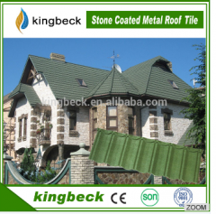 Stone coated steel roof tile
