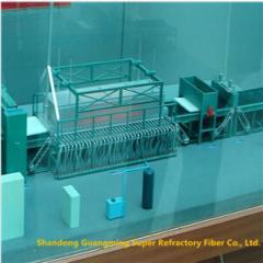 1000T Ceramic Fiber Blanket Production Line