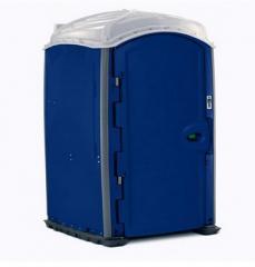 Dark Blue Rotomolded Portable Toilet