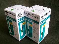 Accu chek active test strip 50ct,100ct