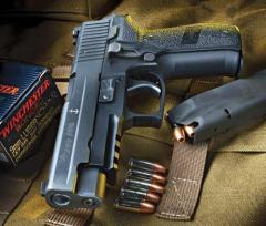 Sig sauer p226 ,xd 45 and glock19 pistols