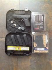 Glock29 and glock23 pistols for sale