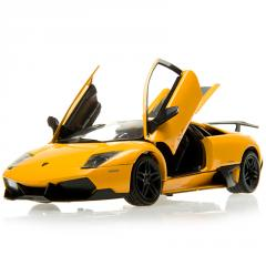 Simulation Cars Model ​18041W AVENTADOR LP700-4 1/18 DIECAST YELLOW