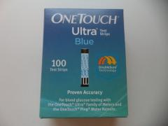 One Touch Ultra 100ct Test Strips
