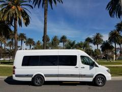 2016 White Mercedes Benz 2500 Luxury Sprinter Limo Van for Sale #1483