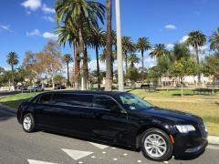 2015 Black 70-inch Chrysler 300 Limo for Sale #617