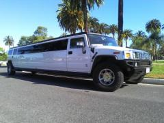 2006 White 200-inch Coastal Hummer H2 SUV Limo for Sale #2487