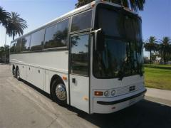 Party Bus: 1998 White 45 passenger Vanhool M11 T2145 party bus for sale #4500