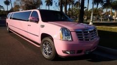 2007 Pink 140-inch GMC Yukon XL Limo for Sale