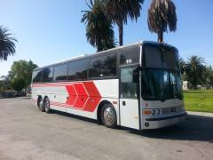 1995 Silver Vanhool 50 Passenger Party Bus for Sale #5047