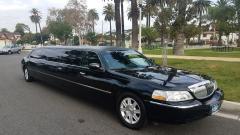2010 Black 120-inch 5th Door Lincoln Towncar Limousine #1014
