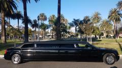 2007 Black 120-inch Chrysler 300 limousine for sale #1292