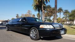 2008 Black 120-inch Lincoln Towncar Limo for Sale #10899