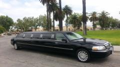 2005 Black 140-inch Lincoln Towncar Limousine for sale #1265