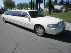 2005 White Lincoln Towncar Limousine for sale by Dabryan #1059