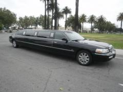 2003 Black 120-inch Lincoln Town Car Limo for Sale #1087