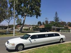 2004 White 120-inch Lincoln Towncar Limo for sale #1007