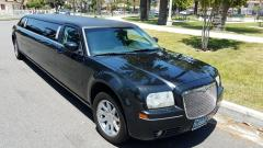 2007 BLACK 120-INCH CHRYSLER 300 LIMOUSINE BY