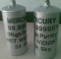 Pure Silver Liquid Mercury 99.99995% for Sale