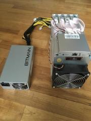 New Antminer L3+ 504MH/s of Litecoin LTC Scrypt Miner machine With Power Supply