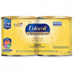 Enfamil Infant Baby Formula 12.5 oz Cans