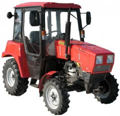 Tractor Belarus 320, small-sized for performance of auxiliary works