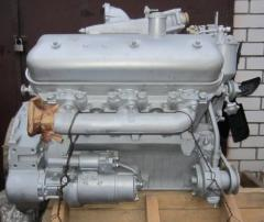 Engine YaMZ-236 for truck MAZ