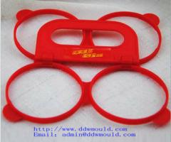 DDW 60mm 4 hole  plastic buckle plastic handle for zip top can