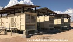 Diesel Generator Containerized Plant 9600 KW