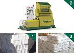 GREENMAX MARS C100 EPS foam melting machine