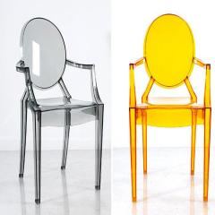 Plastic transparent chair Mold Acrylic Fantastic