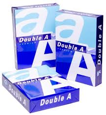 Double A A4 paper 75gsm, 70gsm, 80 gsm