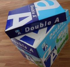 Double A paper one 80gsm a4 copy paper multipurpose a4 copy 80 gsm / white a4 copypaper a4 paper 70g 80g
