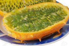 Horned melon and water melon