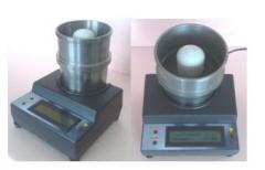 Universal piezoresonance humidity meter solids