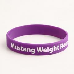 Mustang Weight Room Wristbands