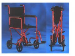 Invacare Aluminum Transport Wheelchair