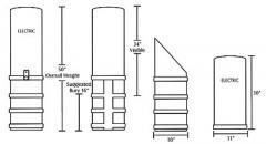 Above Grade Secondary Pedestal 10X11