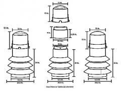 Above Grade Secondary Pedestal API 176