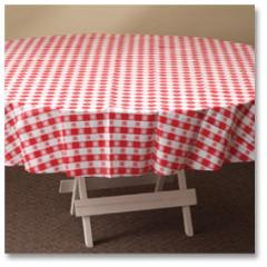 Tablecloths round