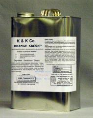 Emulsifiable Solvent Degreaser Concentrate
