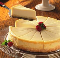 Plain Vanilla Cheesecake