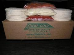 Alpha Superior Quality Calzone Pack Kit