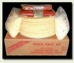 Alpha Gold Pizza Pack Kits
