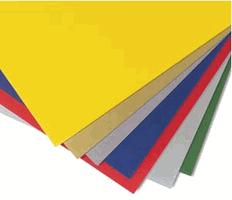 """One-Sided Colored 3/16"""" Foam Board"""