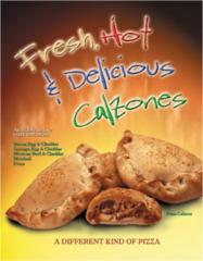 Calzones from the makers of Original Pizza Logs™