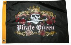 """Pirate Queen Flag Large 36"""" x"""