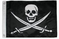 Jack Rackham Skull & Cross Flag Large